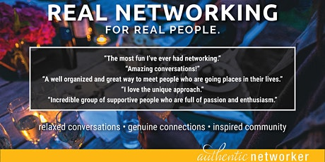 Real Networking: April tickets