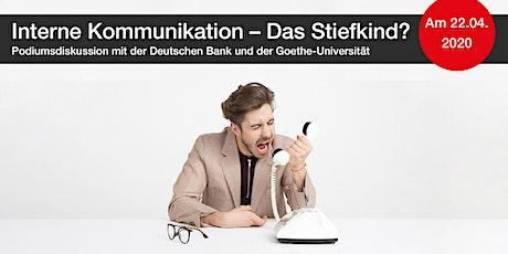 Interne  Kommunikation – Das Stiefkind? Tickets