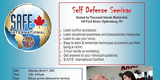 TIMA Self Defense Class