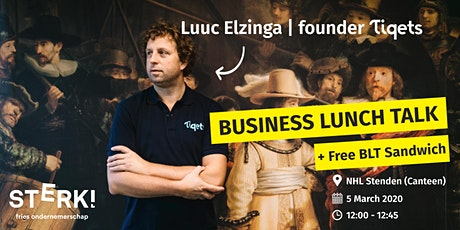 Business Lunch Talk  /  Luuc Elzinga (Tiqets) tickets