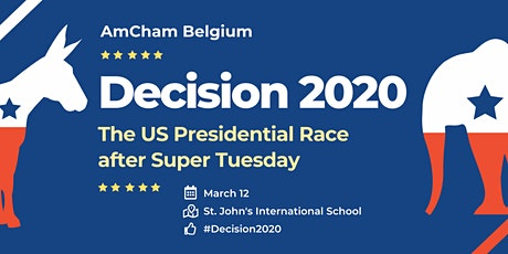 Decision 2020: The US Presidential Race after Super Tuesday tickets