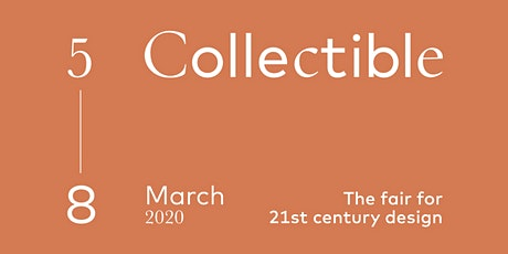 COLLECTIBLE Design Fair 2020 — Brussels, Belgium tickets