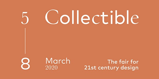 COLLECTIBLE Design Fair 2020 — Brussels, Belgium