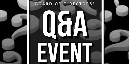 Potsdam Chamber of Commerce Board of Directors' Q&A Event