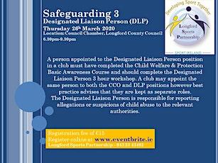 Safeguarding 3 - Designated Liaison Person (DLP) tickets