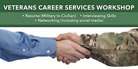 Veterans Career Services Workshop tickets