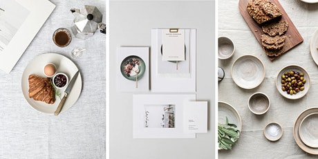 how to style and shoot a flatlay tickets