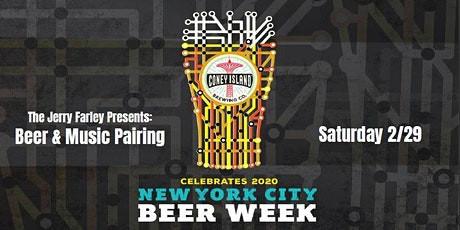 The Jerry Farley Presents: Beer & Music Pairing! tickets