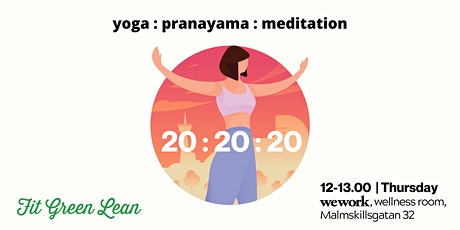 20:20:20 | Yoga + Pranayama + Meditation tickets