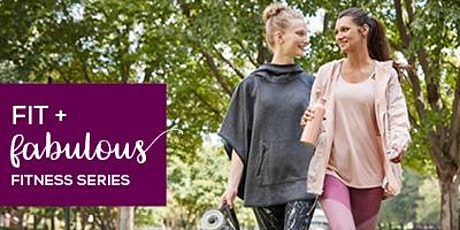 Fit + Fabulous Fitness Series at CambridgeSide featuring Barre3  tickets