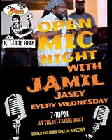 The Pitts Open Mic W/ Jamil Jasey