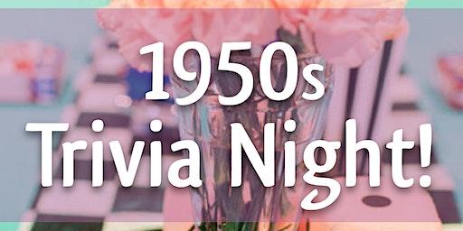 1950s Trivia Night