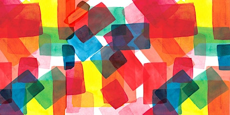 Abstract Watercolours tickets