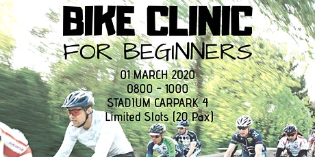 BIKE CLINIC FOR BEGINNERS tickets