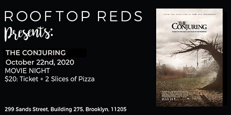 Rooftop Reds Presents: The Conjuring tickets