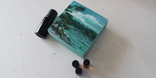 Aroma Art [Mini-Painting + Essential Oils]
