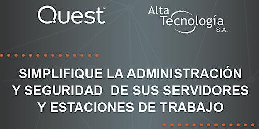 Simplifique la administración y seguridad de sus servidores