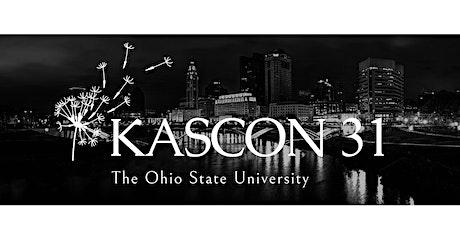 OSU KASCON 31 tickets