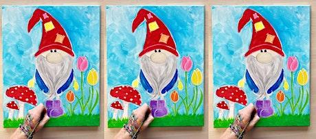 2 for 1! Gnome: Glen Burnie, Sidelines with Artist Katie Detrich! tickets