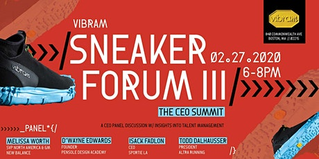 Sneaker Forum III: CEO Summit tickets