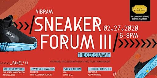 Sneaker Forum III: CEO Summit