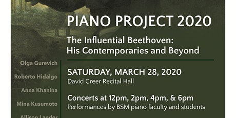 Piano Project tickets