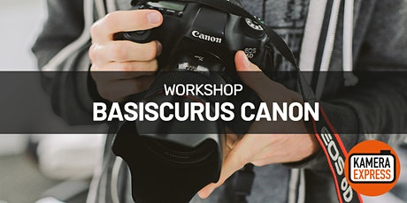 Basiscursus Canon in Turnhout tickets