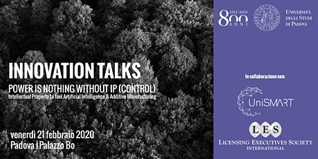 Innovation Talks | Power is nothing without IP (control) biglietti