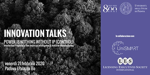 Innovation Talks | Power is nothing without IP (control)