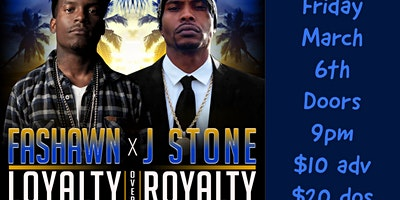 """Fashawn and J Stone """"Loyalty Over Royalty Tour"""""""
