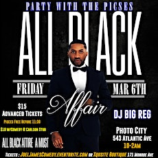 All Black Affair- Party With The Pisces tickets