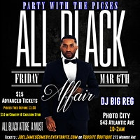 All Black Affair- Party With The Pisces