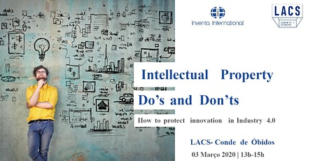 Intellectual Property Do's and Dont's - @LACS CDO bilhetes