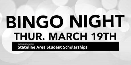 Stateline Chamber Scholarship Bingo Night tickets