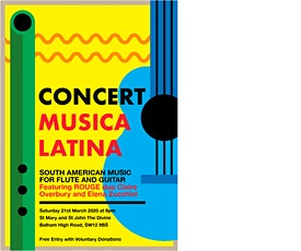 LONDON CONCERT, MUSICA LATINA, SOUTH AMERICAN MUSIC FOR FLUTE AND GUITAR tickets