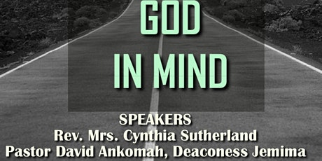 Dating with God in mind tickets