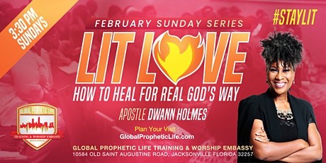 LIT LOVE  - SUNDAY WORSHIP EXPERIENCE tickets