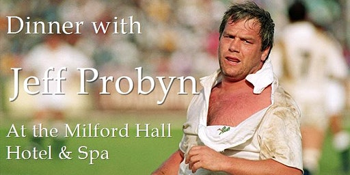 Dinner with Jeff Probyn
