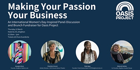 Making Your Passion Your Business: Brunch & Discussion Fundraiser tickets