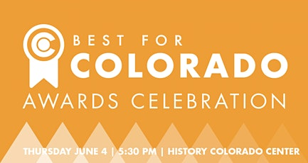 Best for Colorado: 2020 Awards Celebration tickets