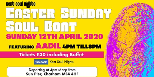Kent Soul Nights Easter Sunday Soul Boat Party
