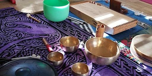 Sound Bath Meditation with Reiki - 6th March 2020