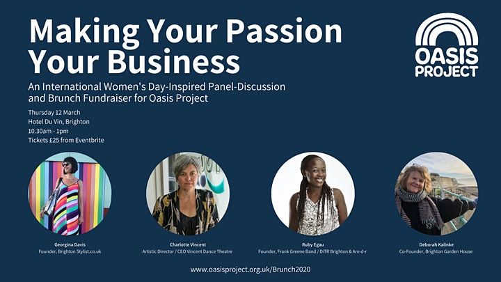 Making Your Passion Your Business: Brunch & Discussion Fundraiser image