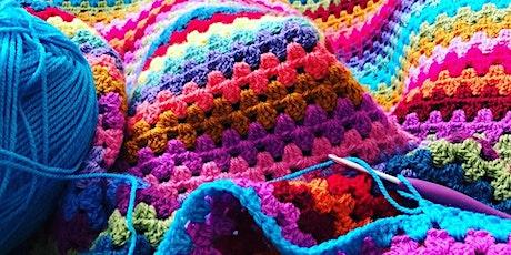 Learn To Crochet - Beginners - Layla's - Granny Stripe tickets