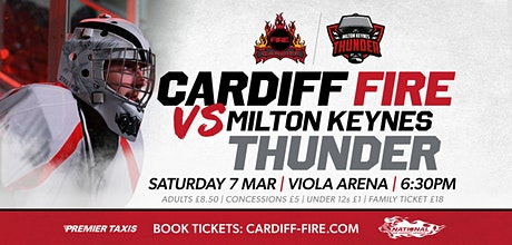 Cardiff Fire vs Milton Keynes Thunder tickets