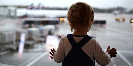 Charla sobre aviones y visita a simulador para niños con TEA entradas