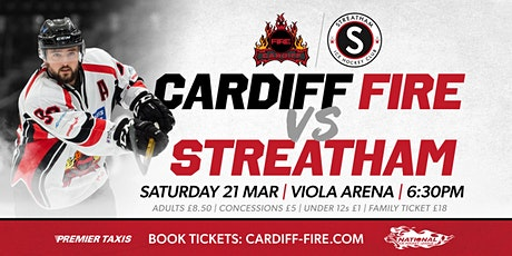 Cardiff Fire vs Streatham IHC tickets