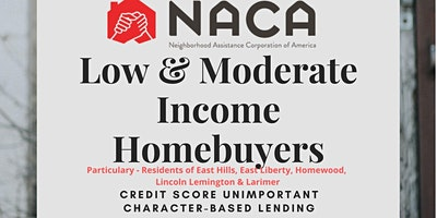 WORKSHOP:  Low & Moderate Income Homebuyers
