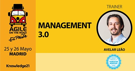 Management 3.0 (Madrid, 25 y 26 de mayo)  - Agile on the Road tickets
