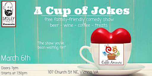 A Cup Of Jokes [free family-friendly comedy show]
